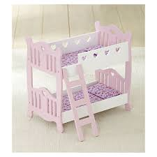 doll bunk beds pink