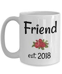 Amazon Quotes Friend Coffee MugFriend Established 40Buddy Awesome Tea Quotes Friendship