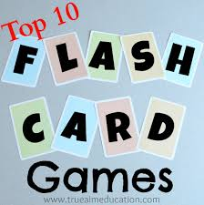 Top 10 Flash Card Games And DIY Flash Cards  True AimMake Flashcards Online Free