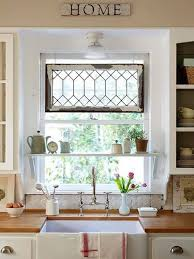 farmhouse kitchen ideas shelving window and room