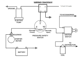 oil pressure safety switch wiring diagram wiring diagram electric fuel pump power supply