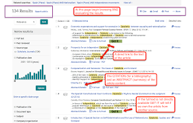 sample article search writing debates in international search results