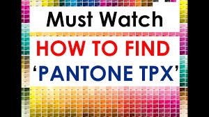 How To Convert Any Color To Tpx Value Latest Youtube