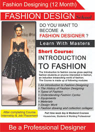 Fashion Designing Short Courses In Mumbai