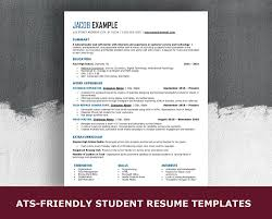 Ats Friendly High School Resume Template 6