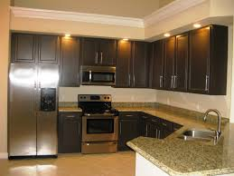 Painting White Cabinets Dark Brown Kitchen Paint Colors With Dark Cabinets