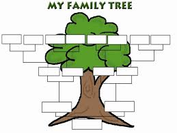 Spanish Family Tree Template Unique Cute Printable Family