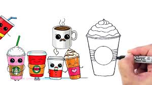 cute starbucks drawing. Exellent Starbucks Starbucks Frappuccino Drawing 55 Cute Drawings For N