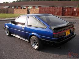 TOYOTA COROLLA GT COUPE, LEVIN, RWD,GTI,AE 86,1985 TAX AND MOTED