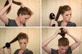 Sock Bun Hair Style textured sock bun tutorial fashionisers 8450 by wearticles.com