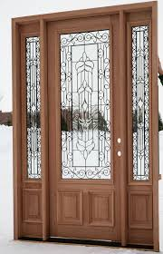 white single front doors. Doors: Elegant Design Single Glass Front Doors With Beautiful White Colors From Some Points You