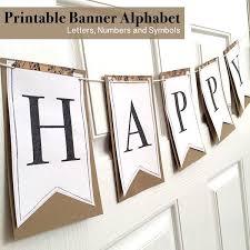 Printable Letter For Banners Printable Full Alphabet For Banners Printable Banner
