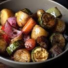 balsamic glazed roast vegetables