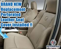 bottom car seat covers dodge ram perforated leather seat drivers bottom tan sheepskin car seat covers