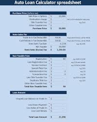 Mortgage Refinance Calculator Excel Loan Excel Spreadsheet Free Car Amortization Home Sheet