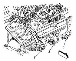 gm engine plug wire diagram wiring diagram for a 2000 chevy impala the wiring diagram i removed the cables off the