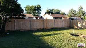wood fence backyard. Wood Fence Backyard