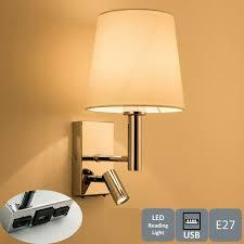led usb wall light indoor bedroom