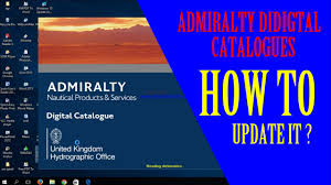 Adc 3 How To Update Admiralty Digital Catalogues