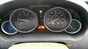 2012 Mazda 6 Blinking Airbag Sensor Message