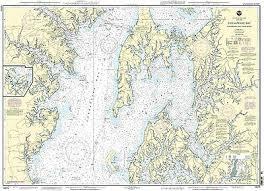 Noaa Chart Chesapeake Bay Eastern Bay And South River