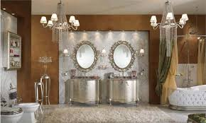 luxury bathroom furniture. Luxury Bathroom With Classic Furniture Design Idea