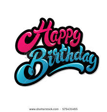 Happy Birthday Greeting Stock Images Royalty Free Images
