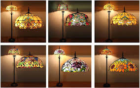 colored glass lighting. Coloured Glass Lamp Shades Cha Multi Colored Lighting