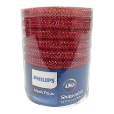 Led Mesh Rope Lights Philips 60 Ct Led Mesh Rope Lights Red Products Red