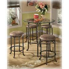 d382 223 ashley furniture pub table base4 24 inch bar stools for stylish household 24 inch pub table remodel