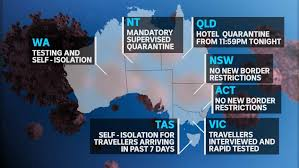 The six weeks could be shortened if. States And Territories Issue Quarantine Orders As South Australia S Coronavirus Outbreak Grows Abc News