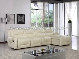 l shape furniture. L Bentuk Kulit Furniture Ruang Tamu Sofa Bed,L Dengan Recliners, Hitam - Buy Product On Alibaba.com Shape A