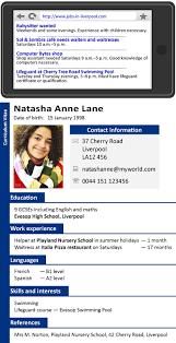 English Curriculum Vitae A Cv Learnenglish Teens British Council