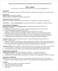 Experienced Teacher Resume Experienced Teacher Resume Best New