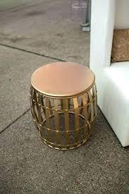 gold drum side table australia coffee round silver accent end ideas 3 kitchen splendid roun