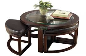 round coffee table with 4 chairs kenny design coffee table wooden with regard to coffee