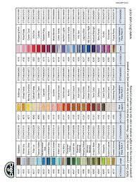 Dmc Color Variations Chart Les Patrons De Broderie