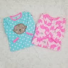 Carters Simple Joys Pajama Set Of 2 Size 6 9 Mths