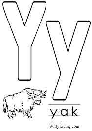 Small Picture Letter Y coloring pages 5 Nice Coloring Pages for Kids