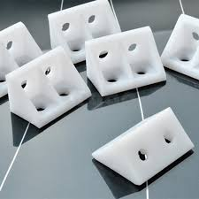 <b>20pcs Thick nylon plastic</b> corner brackets 90 Degree Cabinet ...