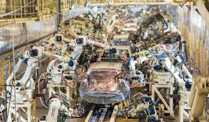 Toyota's Production Philosophy Combines Human Effort with Automation