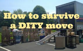 how to survive a dity move on one week s notice