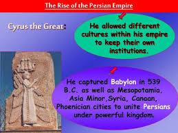 King Cyrus And King Darius Venn Diagram Ppt Chapter 4 Section 3 8 Th Grade World History Mrs Thompson