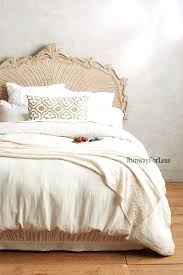 new home queen bed soft linen duvet comforter cover 1 euro sham hotel collection linen natural