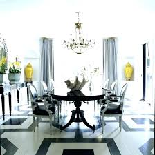 swag chandelier over dining table hanging light proper height for wonderful double gorgeous room with sets
