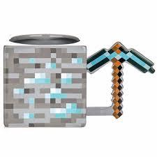 Minecraft Diamond Pickaxe Mug