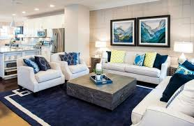 coastal style living room furniture. Blue And White Coastal Style Living Room With Kitchen Furniture C