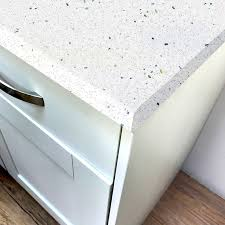white sparkle gloss laminate worktop pro top 600mm
