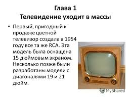 Презентация на тему Реферат Тема Телевизоры Их классификация  6 Глава