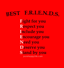 Friendships Quotes Unique Friendships Quote Best FRIENDS Fight For You Respect You Include